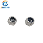 Hardware Fastener Stainless Steel SS304 Nylon Lock Nuts